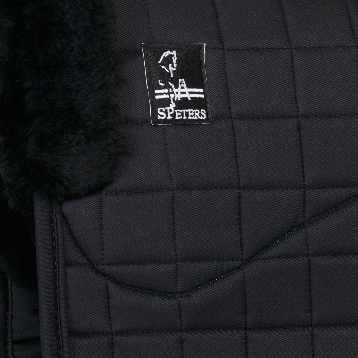 Steffen Peters by Professionals Choice 22X26 Equine Smx Luxury Shearling Dressage Pad