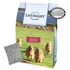 LiveSmart™ Salmon Meal and Brown Rice Adult Dog Formula