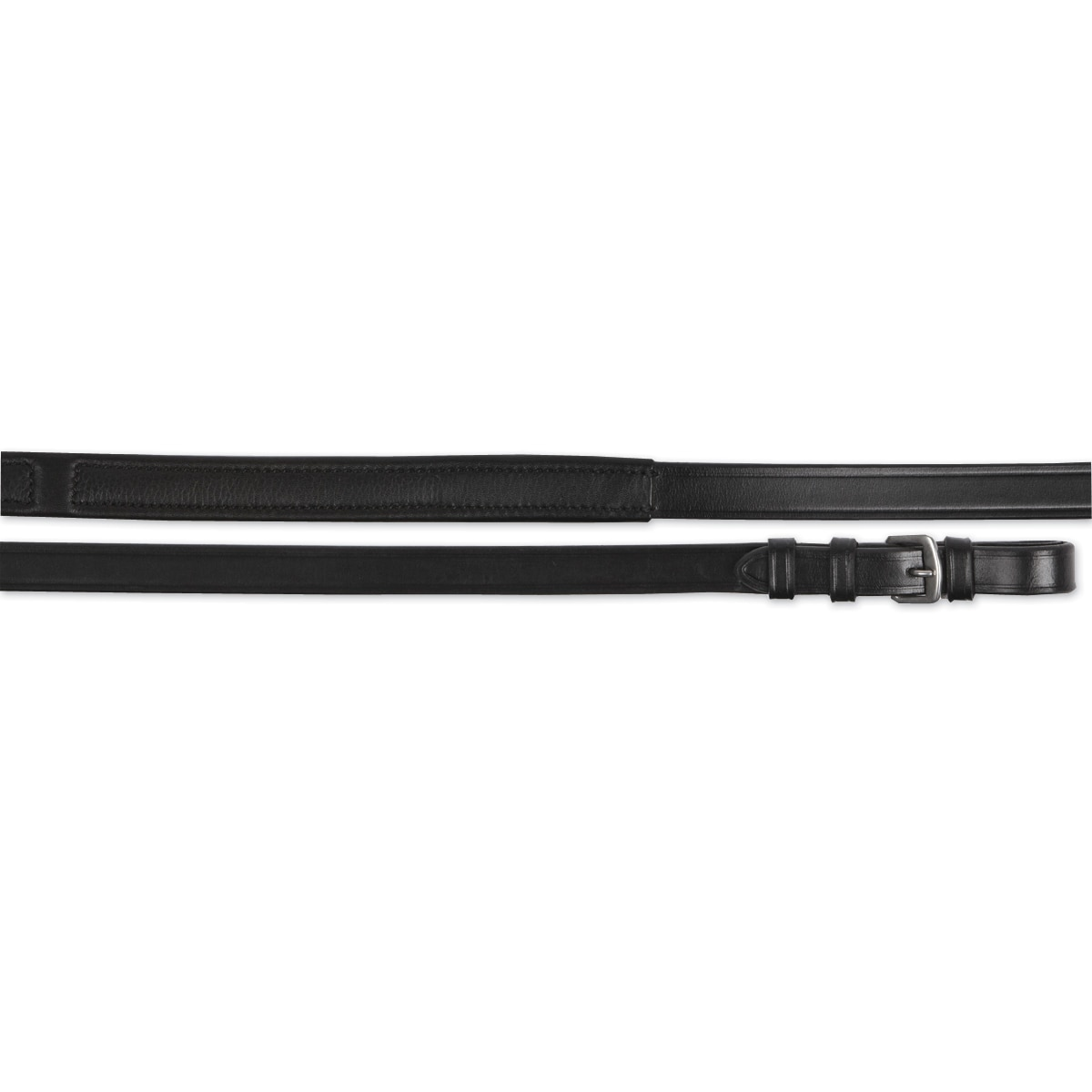 Red Barn Calfskin Reins with Stops