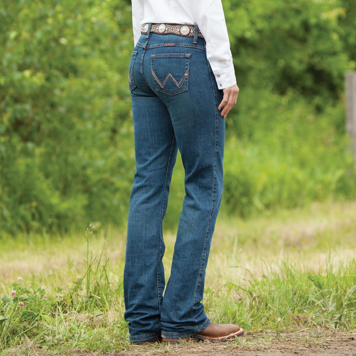 de375a14 Wrangler® Women's Ultimate Riding Jeans Q-Baby- Tuff Buck