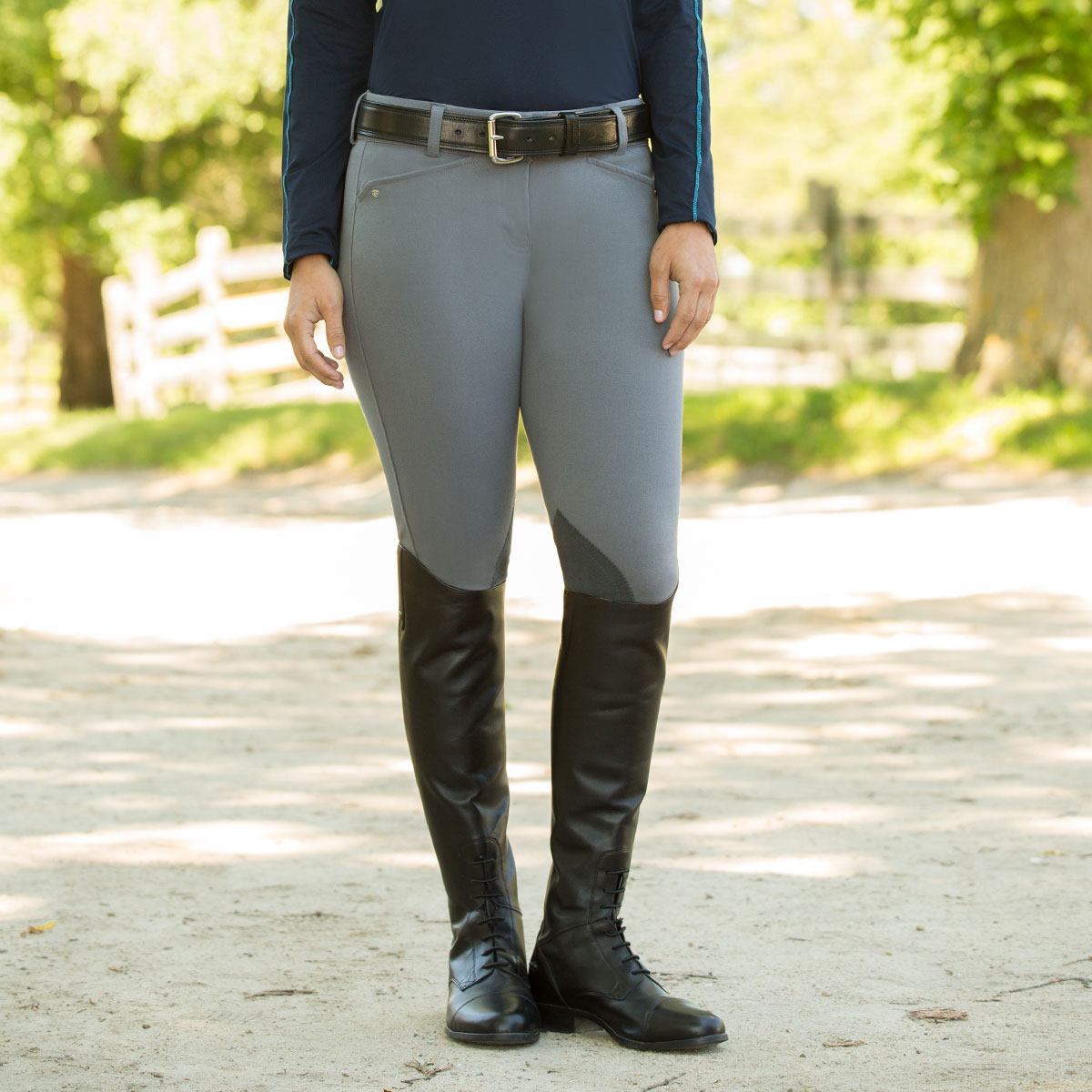 Ariat® Heritage Knee Patch - Front Zip