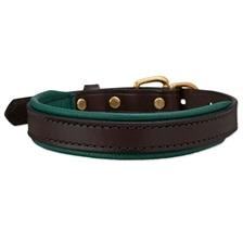 SmartPak Soft Padded Leather Dog Collar
