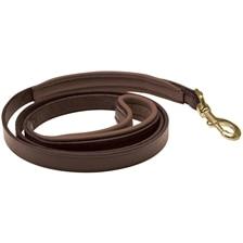 SmartPak Soft Padded Leather Dog Leash