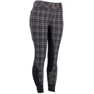 Piper Breeches by SmartPak - Plaid Full Seat