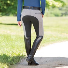 Piper Breeches by SmartPak - Plaid Full Seat- Clearance!