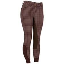 Piper Breeches by SmartPak - Plaid Full Seat - Clearance!