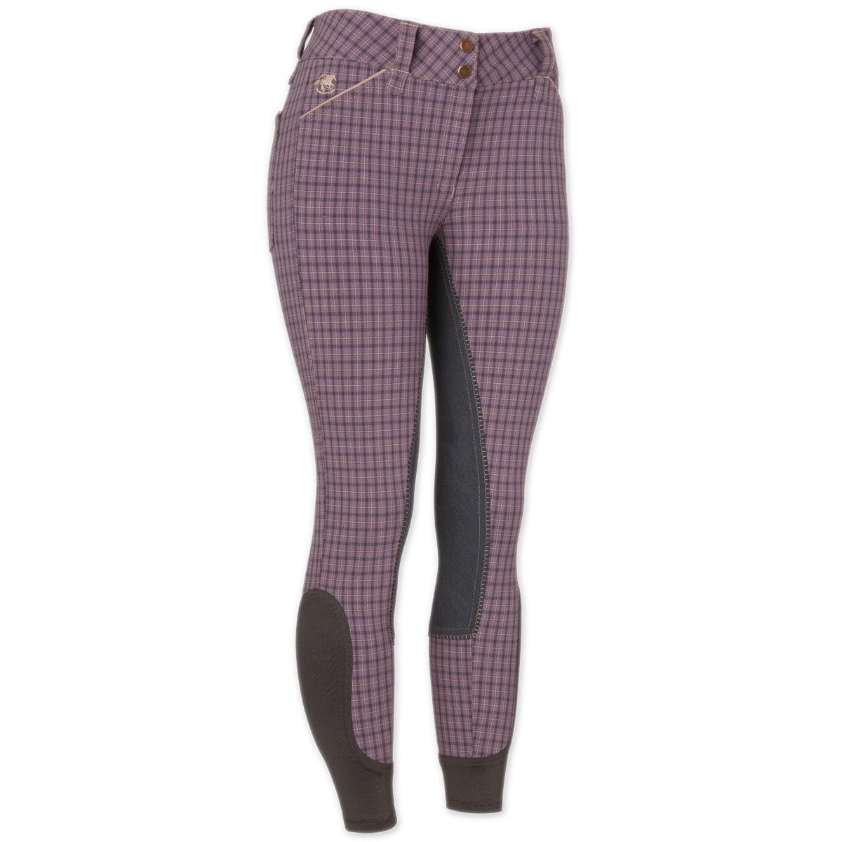 Piper Breeches by SmartPak - Plaid Full Seat- Sale!