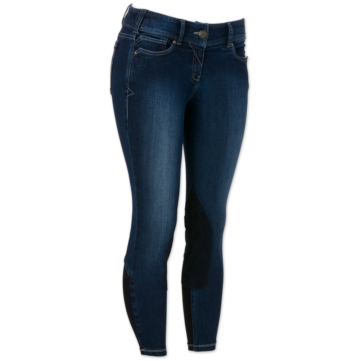 Ariat® Denim Knee Patch Breech