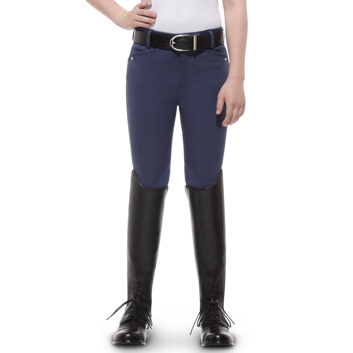 Ariat® Girl's Heritage Knee Patch - Front Zip