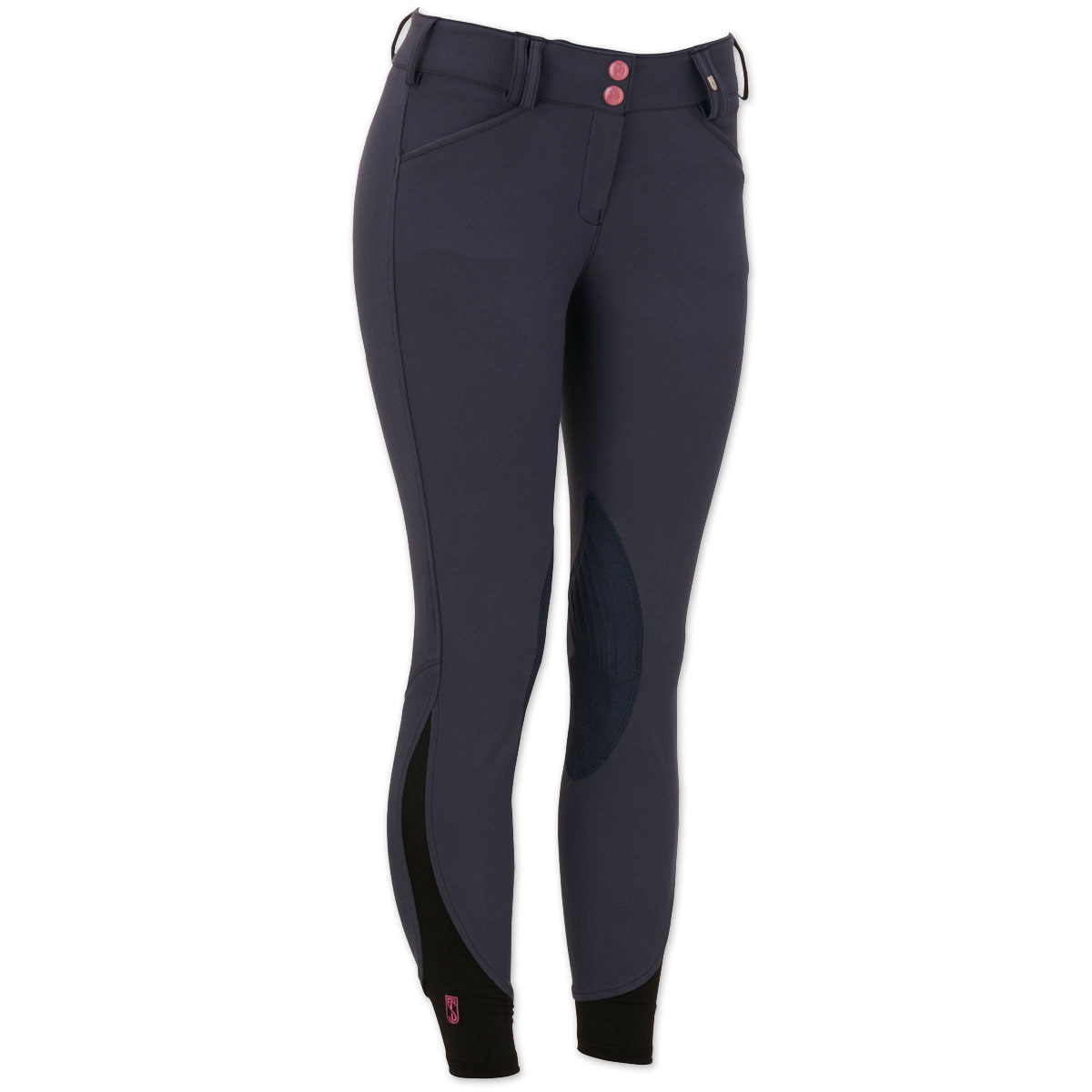 Tredstep Symphony No. 3 Rosa Front Zip Knee Patch Breeches