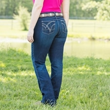 Wrangler® Cowgirl Cut® Ultimate Riding Jeans - Q-Baby with Booty Up™ Technology