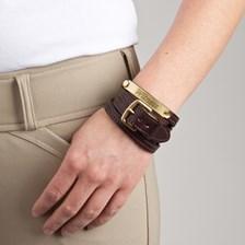 Split Leather Bracelet