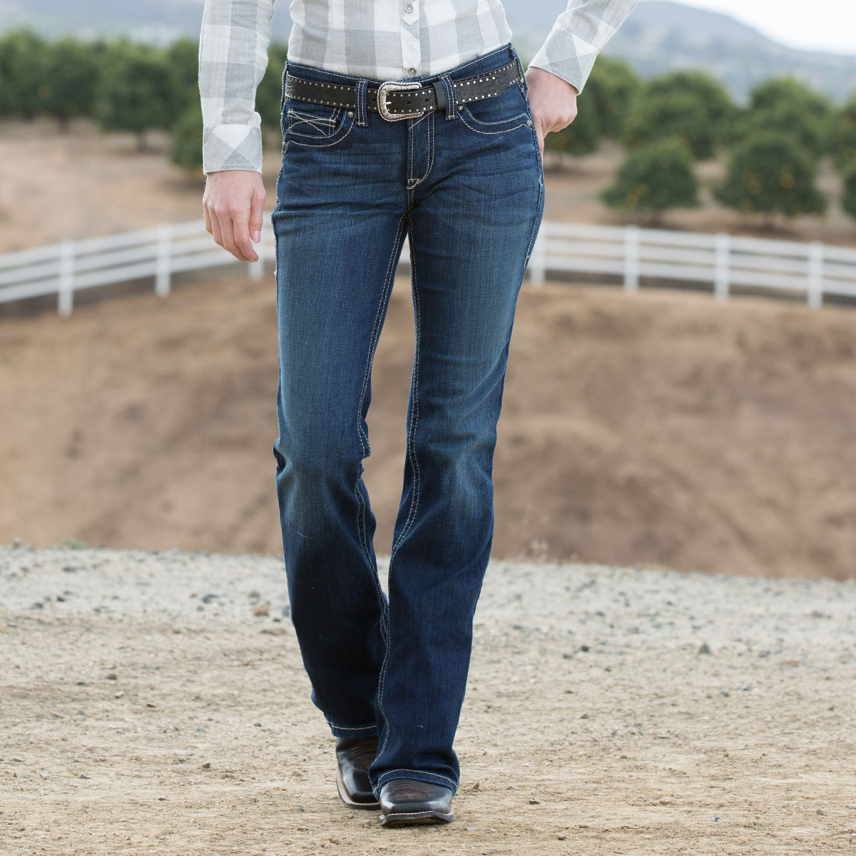Ariat Women's REAL Riding Jeans- Spitfire
