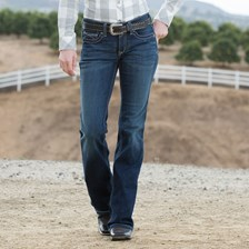 Ariat Women's R.E.A.L. Riding Jeans Boot Cut- Spitfire
