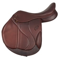 M. Toulouse Marielle Monoflap Eventing Saddle with Genesis System