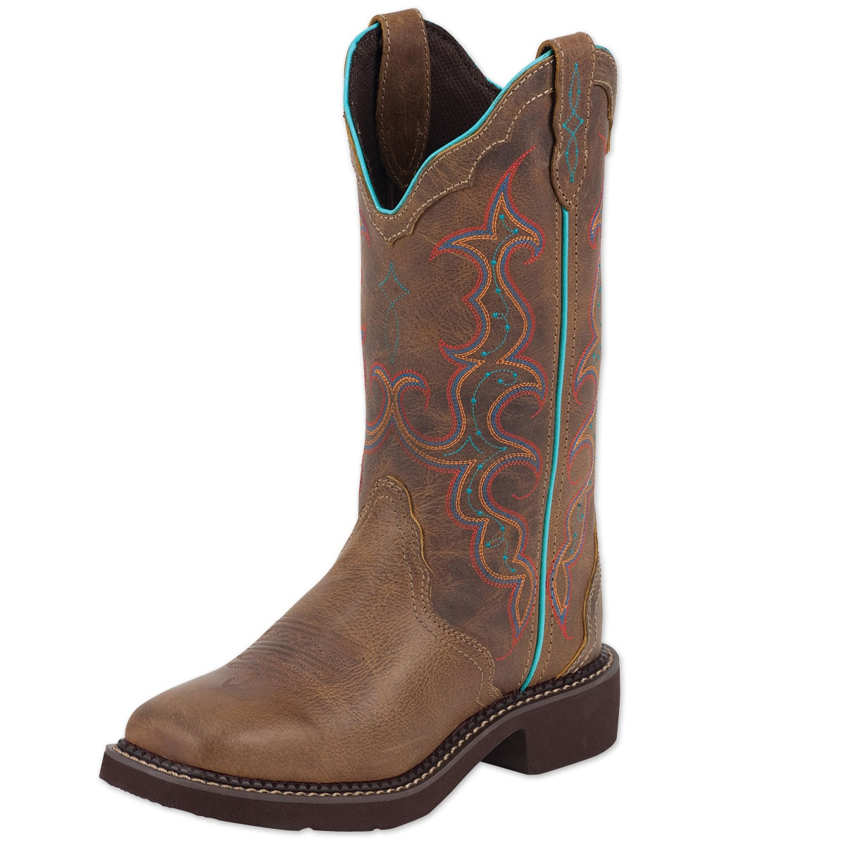 Justin Women's Gypsy Collection - Broad Square Toe