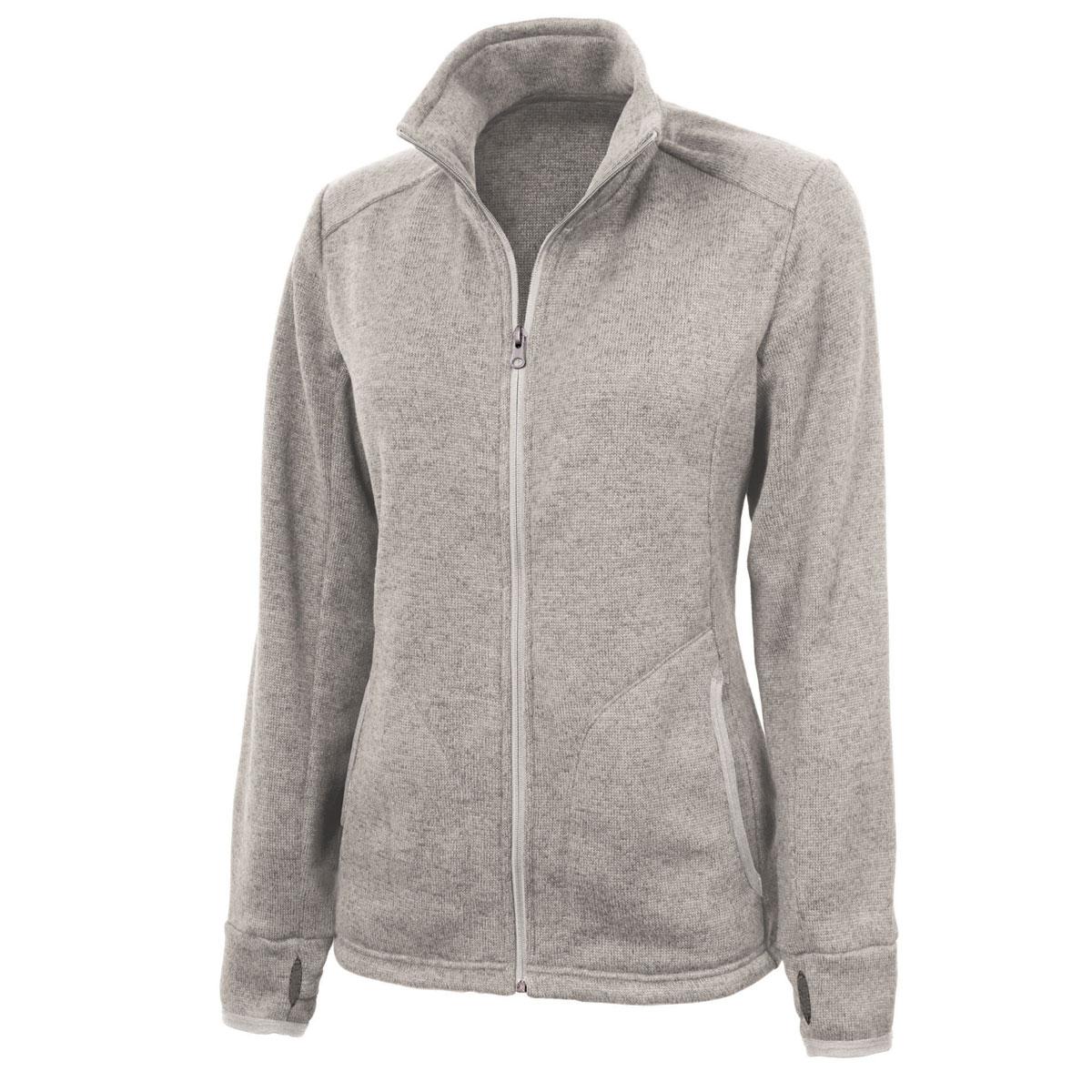 Personalized Heathered Fleece Jacket