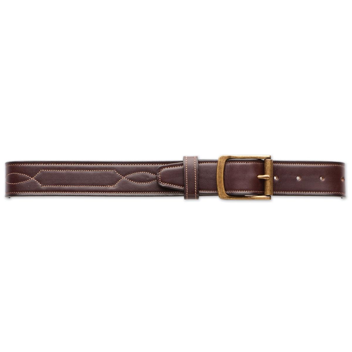Tory Leather 1.5 Stitched Pattern Belt