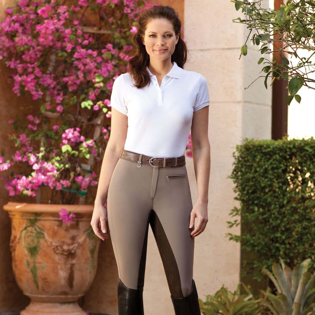 Pikeur Lugana Contrast Full Seat Breeches