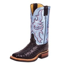 Justin Women's AQHA Q-Crepe Ostrich Boots