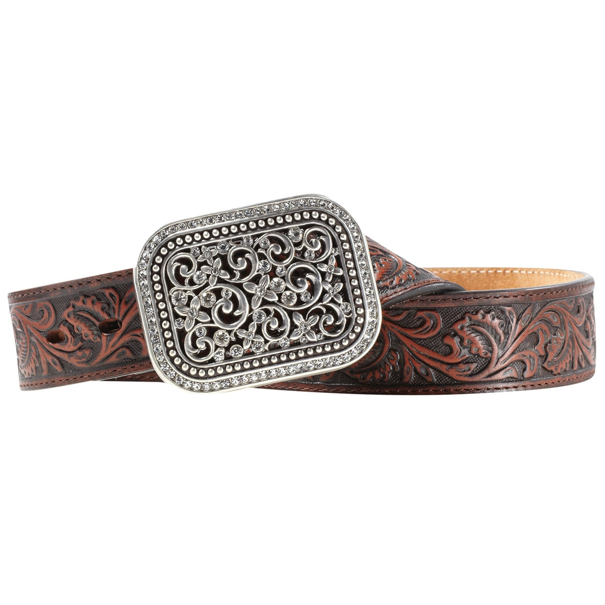 Ariat® Women's Tooled Leather Belt