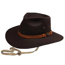 Outback Kodiak Oilskin Waterproof Hat