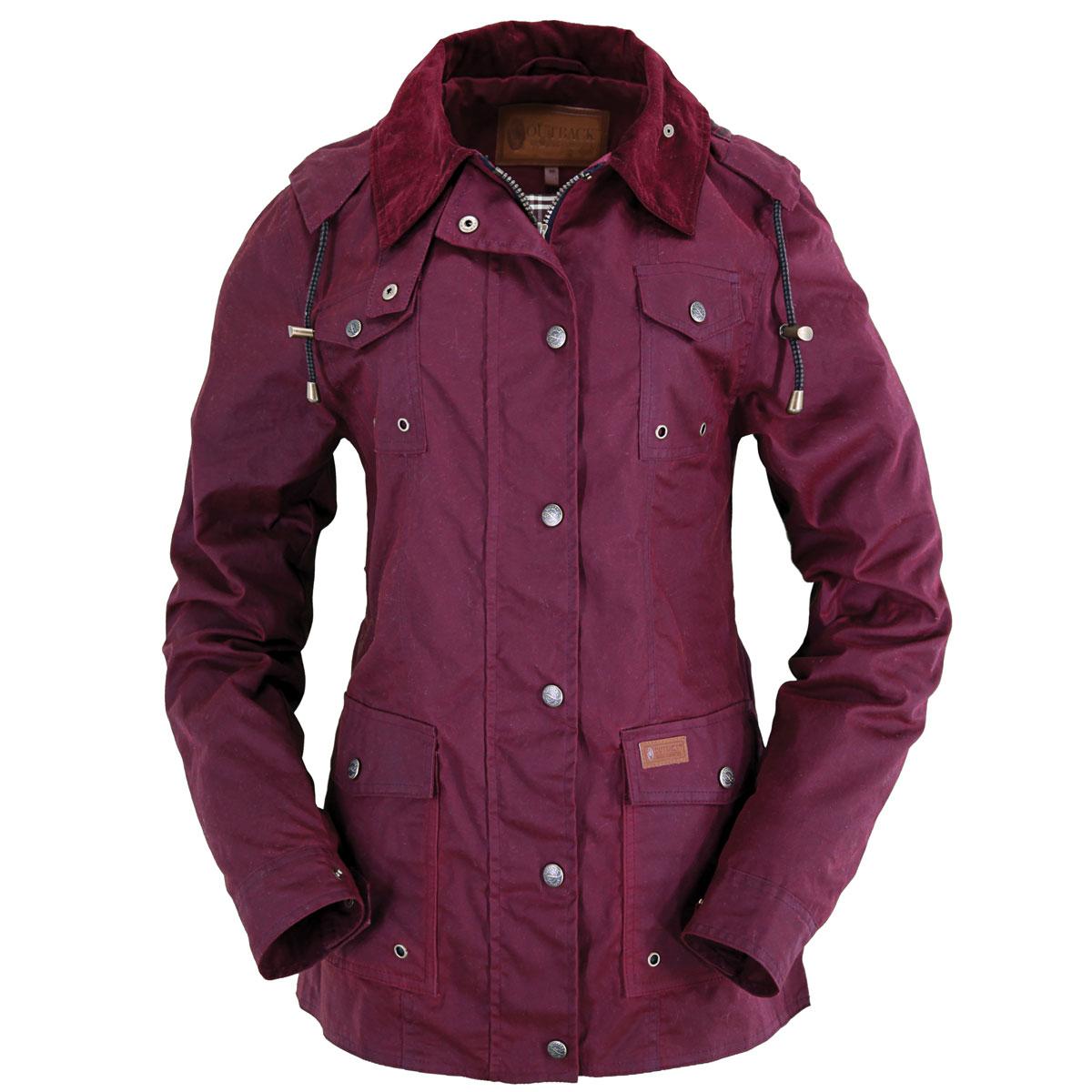 Outback Jill-A-Roo Oilskin Jacket