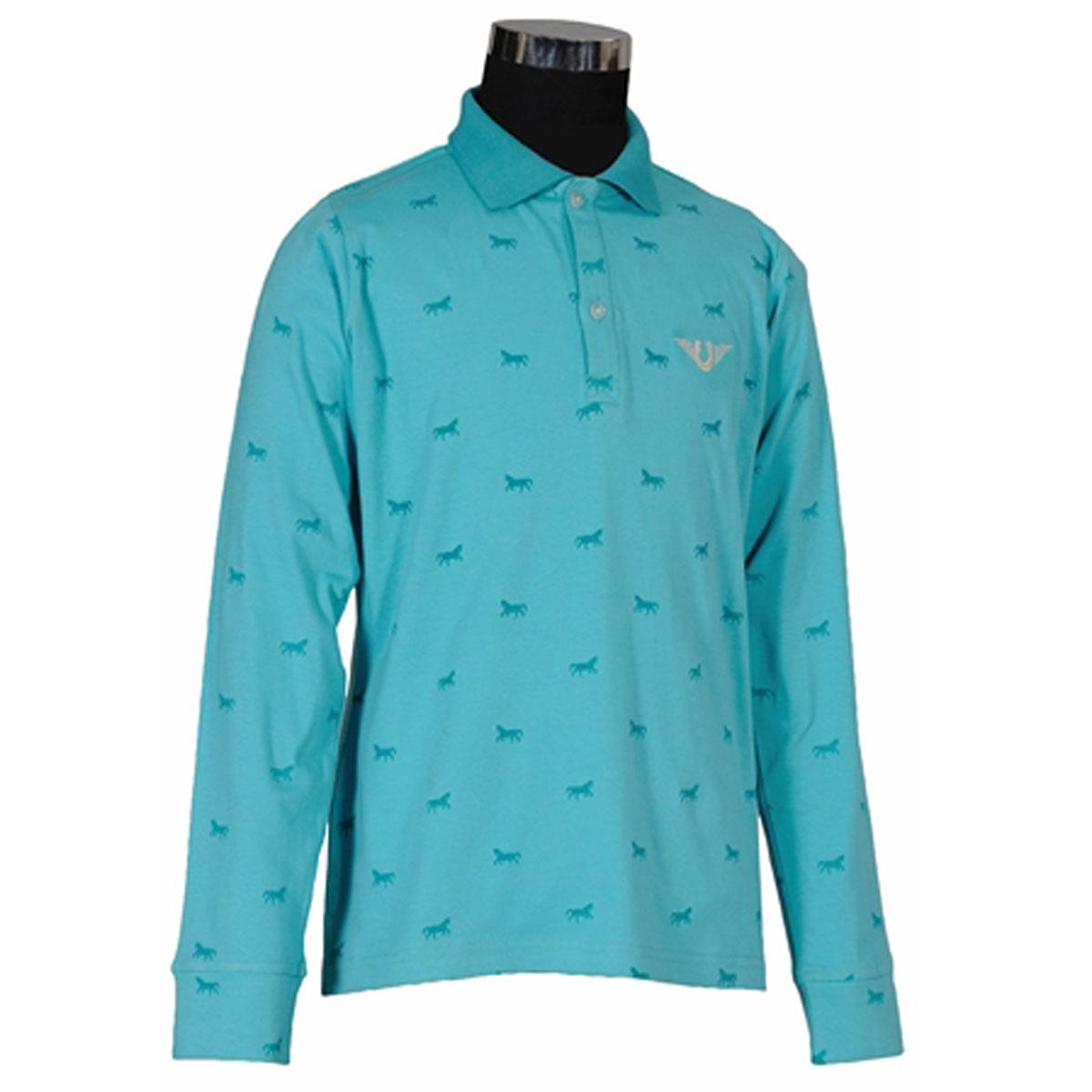 TuffRider Children's Madelyn Long Sleeve Polo Shirt