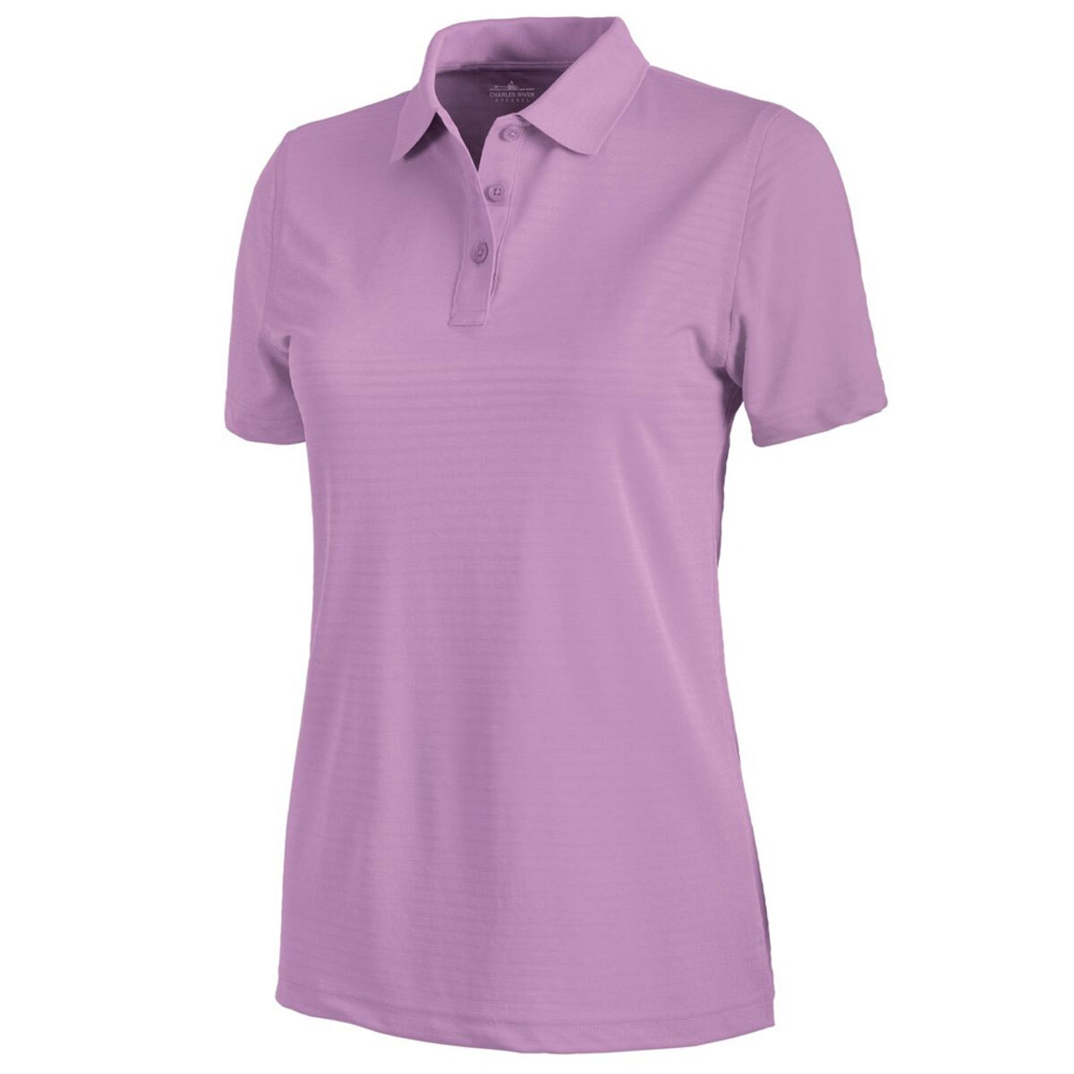 Personalized Ladies Wicking Shadow Stripe Polo Shirt