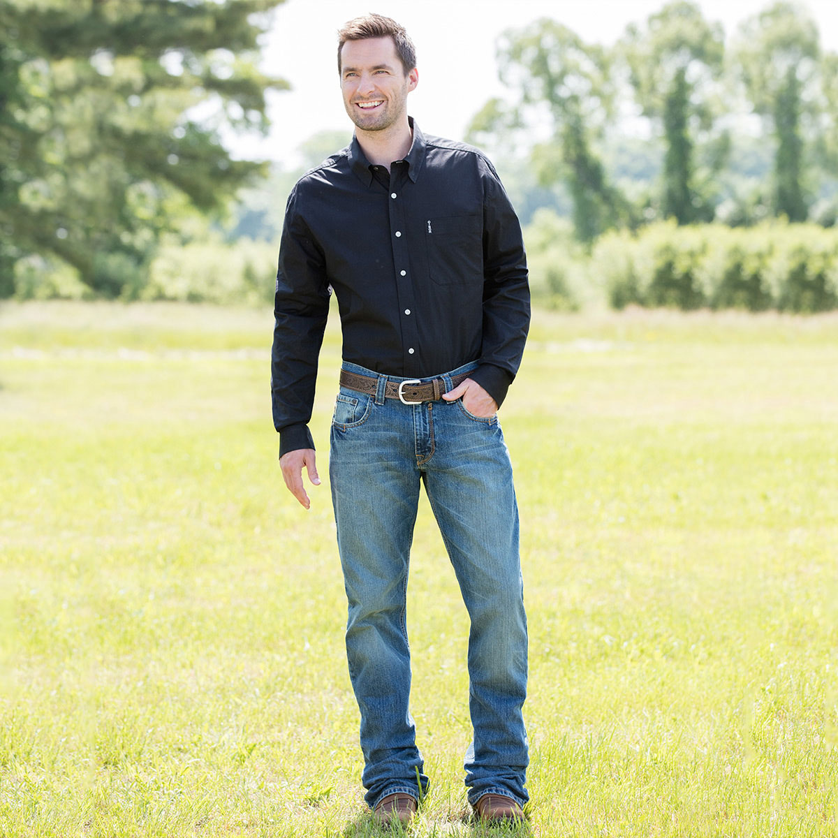 Cinch® Men's Carter Jeans- Medium Stonewash