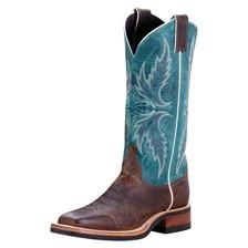 SMARTPAK EXCLUSIVE - Justin Women's Q-Crepe Boots - Blue