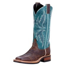 SMARTPAK EXCLUSIVE - Justin Women's Q-Crepe Boots - Blue - Clearance!
