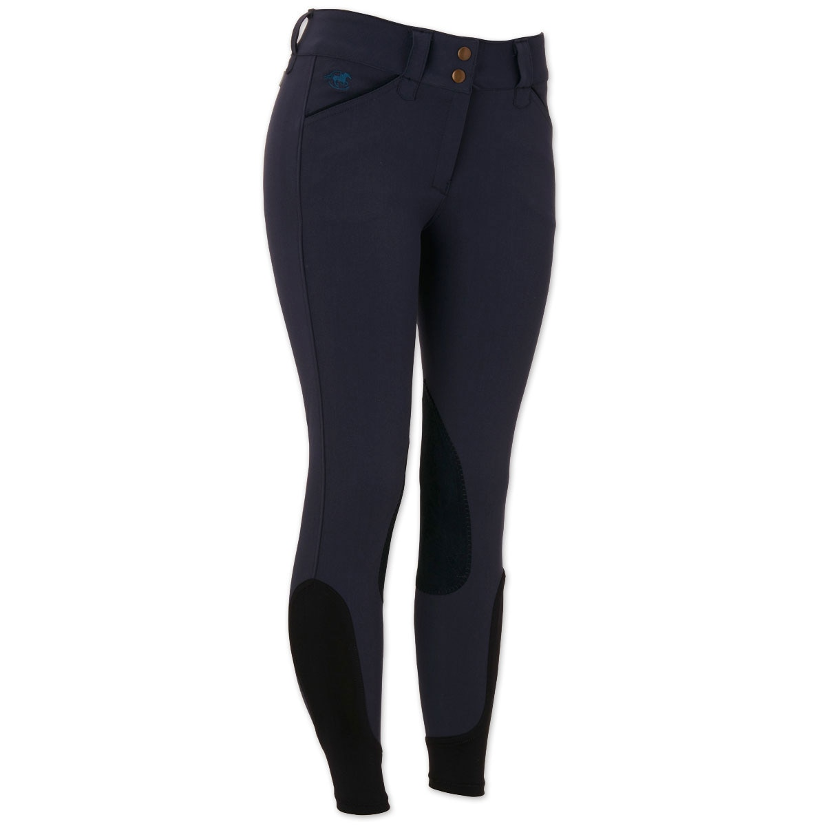 Piper Breeches by SmartPak - Classic Front Zip Knee Patch- Sale!