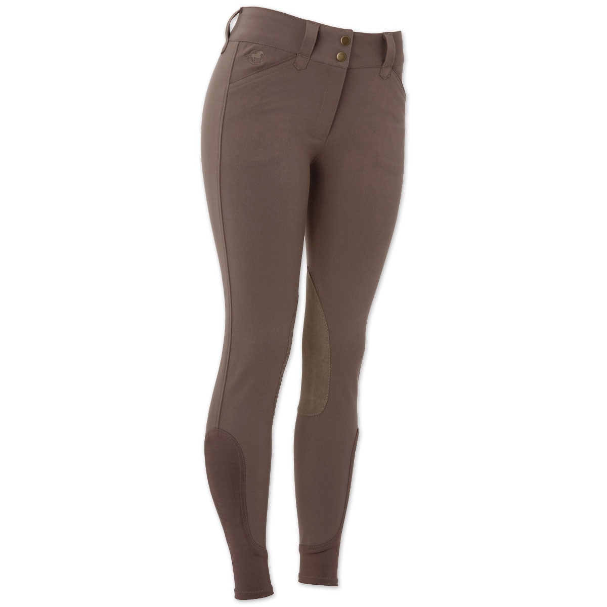 Piper Breeches by SmartPak - Classic Front Zip Knee Patch
