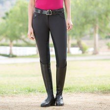 Piper Classic Front Zip Breeches by SmartPak - Full Seat