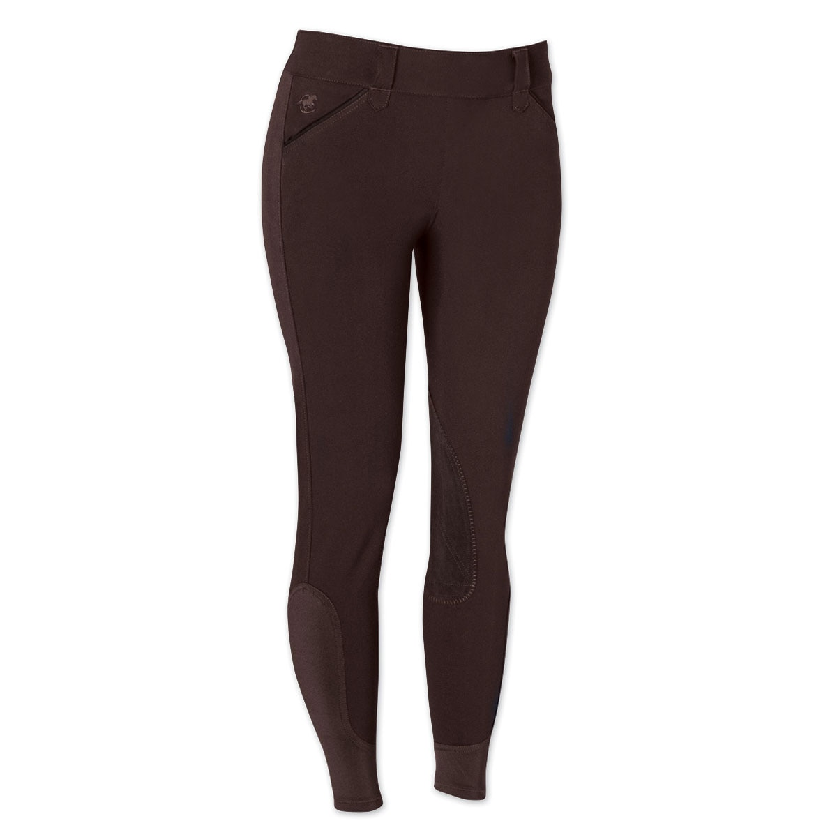Piper Breeches by SmartPak - Classic Side Zip Knee Patch- Sale!