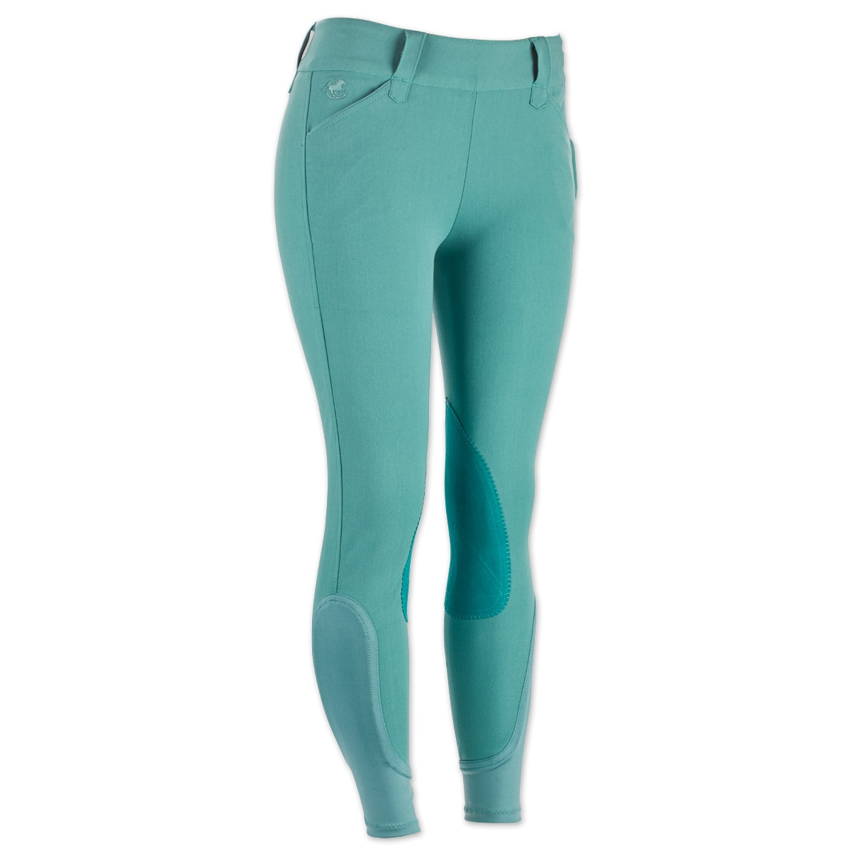 Piper Breeches by SmartPak - Classic Side Zip Knee Patch - Clearance!