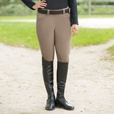 Piper Classic Side Zip Breeches by SmartPak - Knee Patch