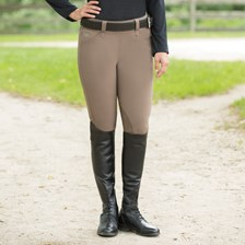 Piper Breeches by SmartPak - Classic Side Zip Knee Patch