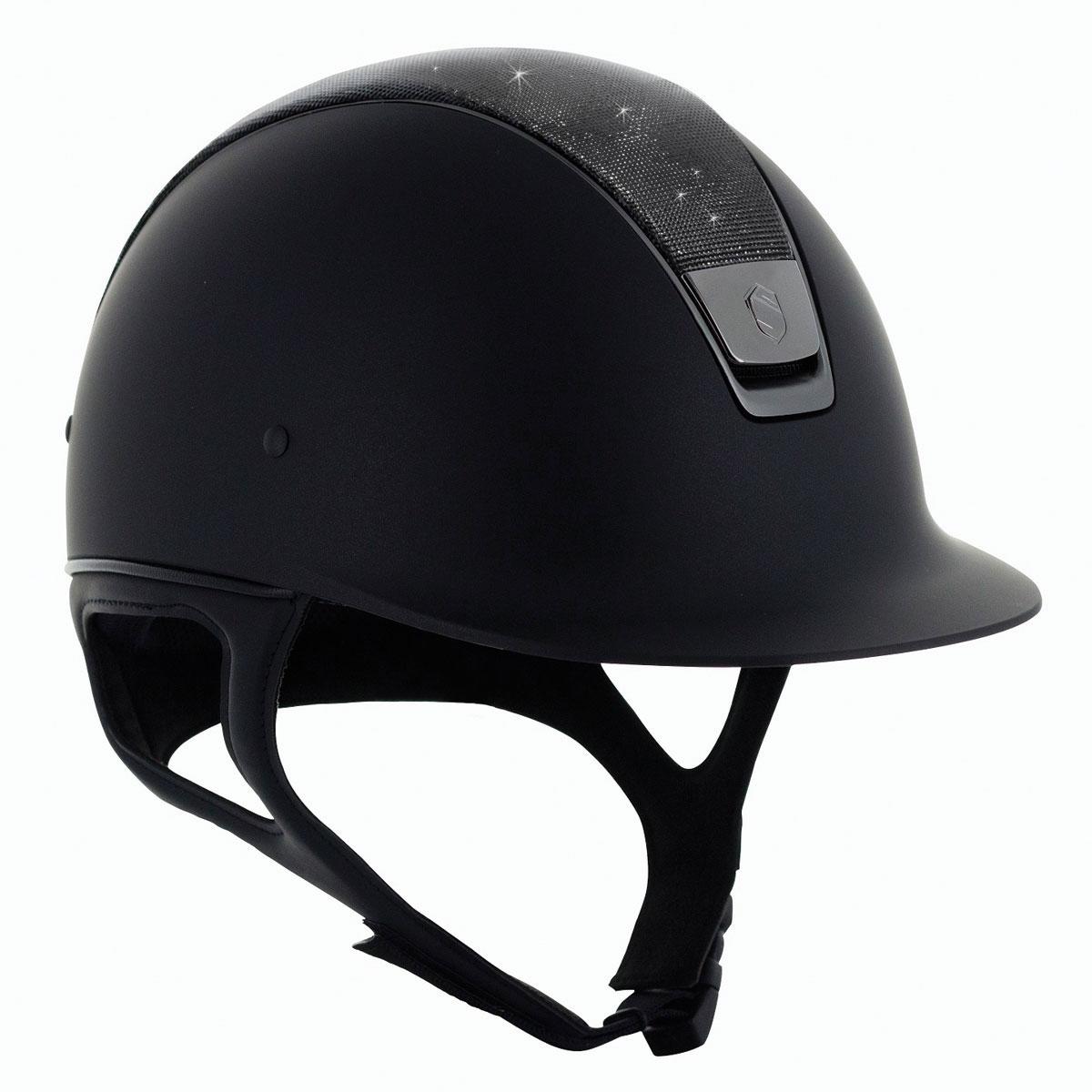 Samshield Shadow Matt Shimmer Leather Top Helmet