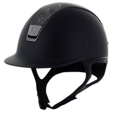 Samshield Shadowmatt Shimmer Leather Top Helmet