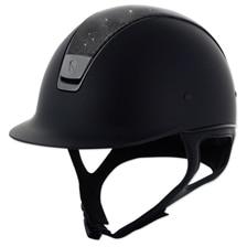 Samshield Shadowmatt Shimmer Leather Top Helmet