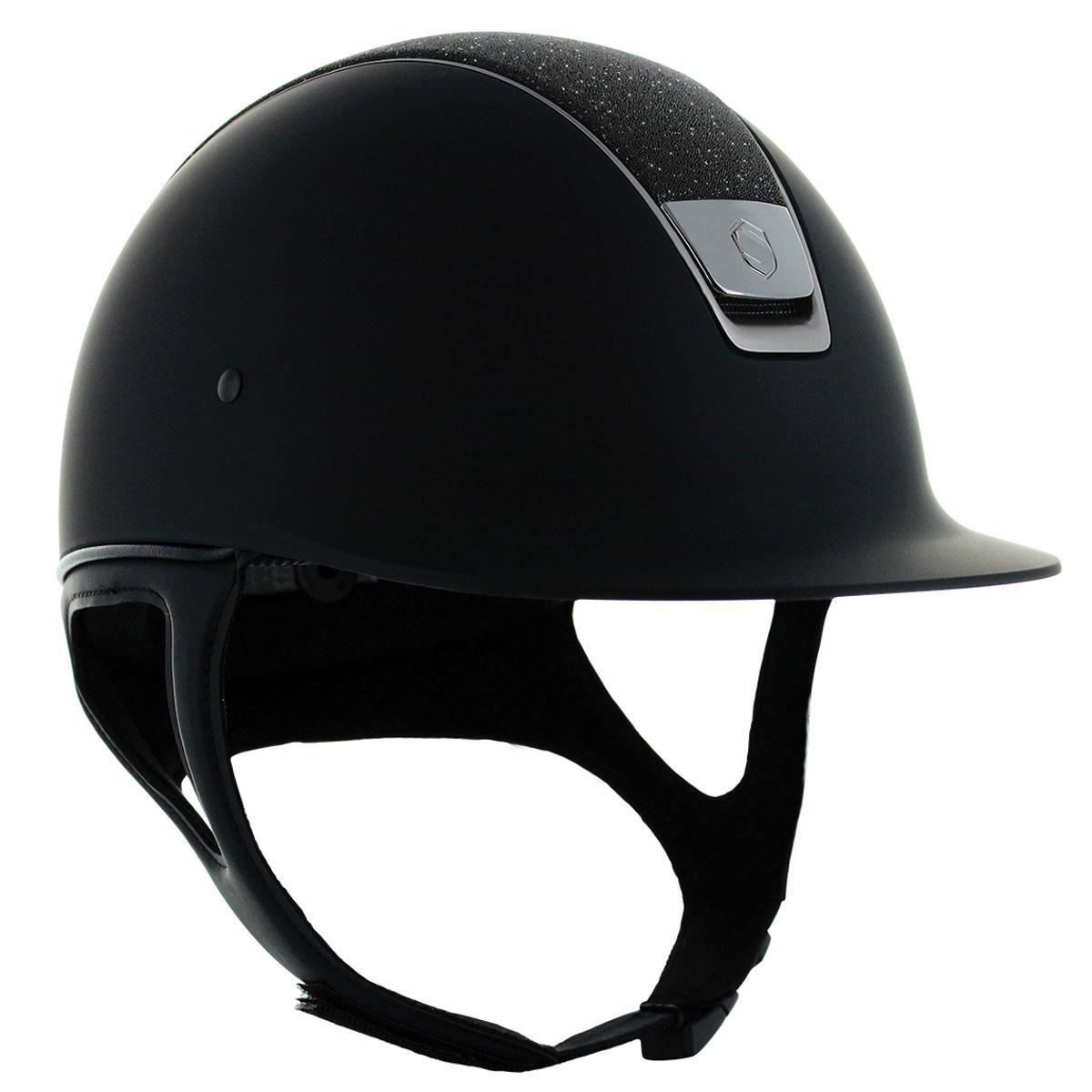 Samshield Shadow Matt Crystal Fabric Top Helmet