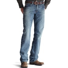Ariat® Men's M4 Low Rise Boot Cut Scoundrel Jeans