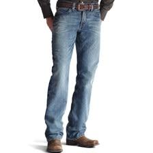 Ariat® Men's M4 Low Rise Boot Cut Scoundrel Jeans