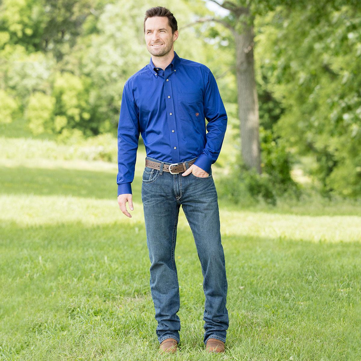Ariat® Men's M5 Slim Straight Deadrun Jeans- Closeout