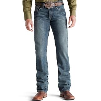 Ariat® Men's M5 Slim Straight Leg Deadrun Arrowhead Jeans