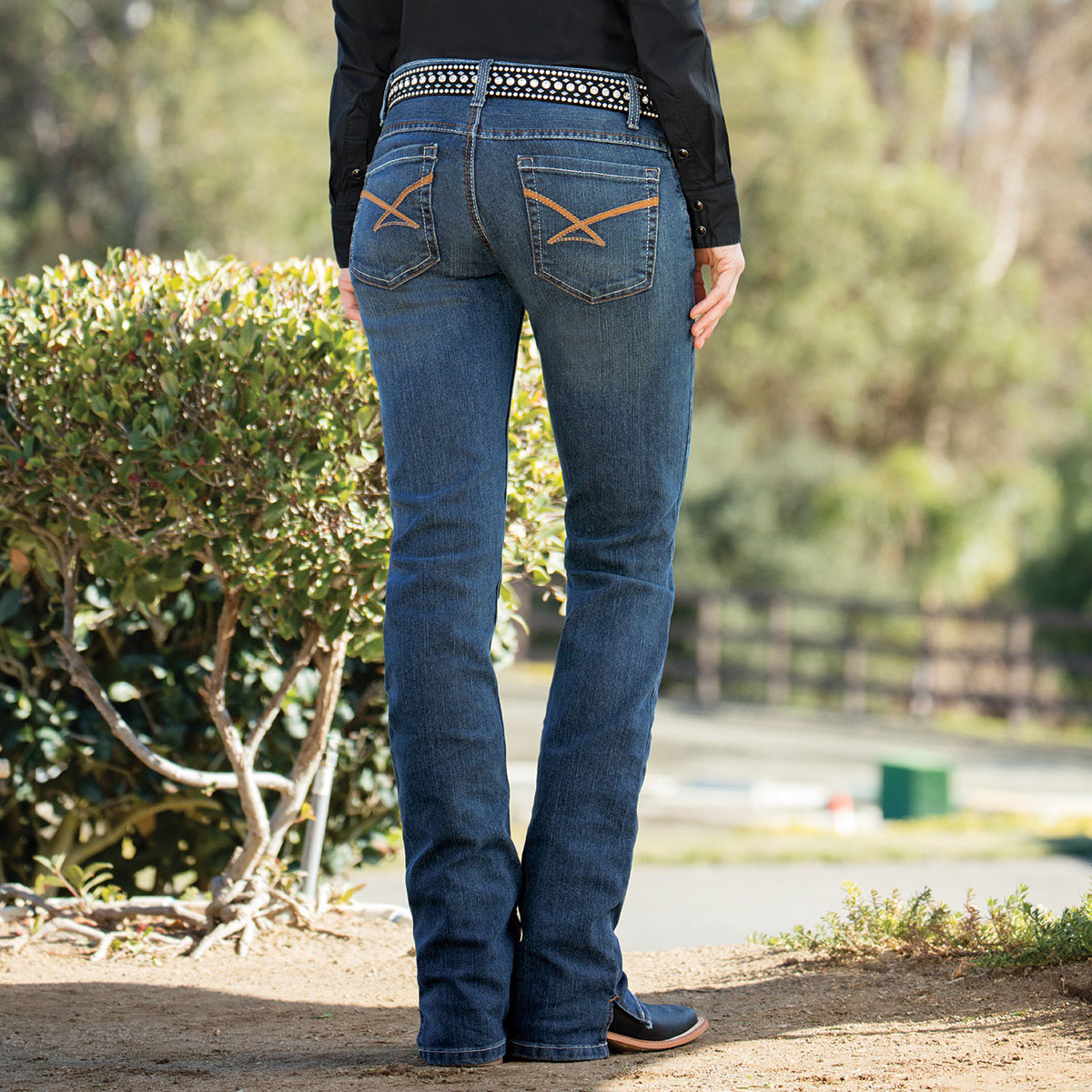 Cinch Women's Kylie Jeans- Dark Stonewash