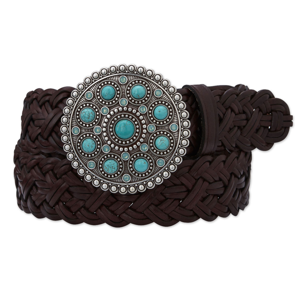 Ariat Women's Round Buckle Belt