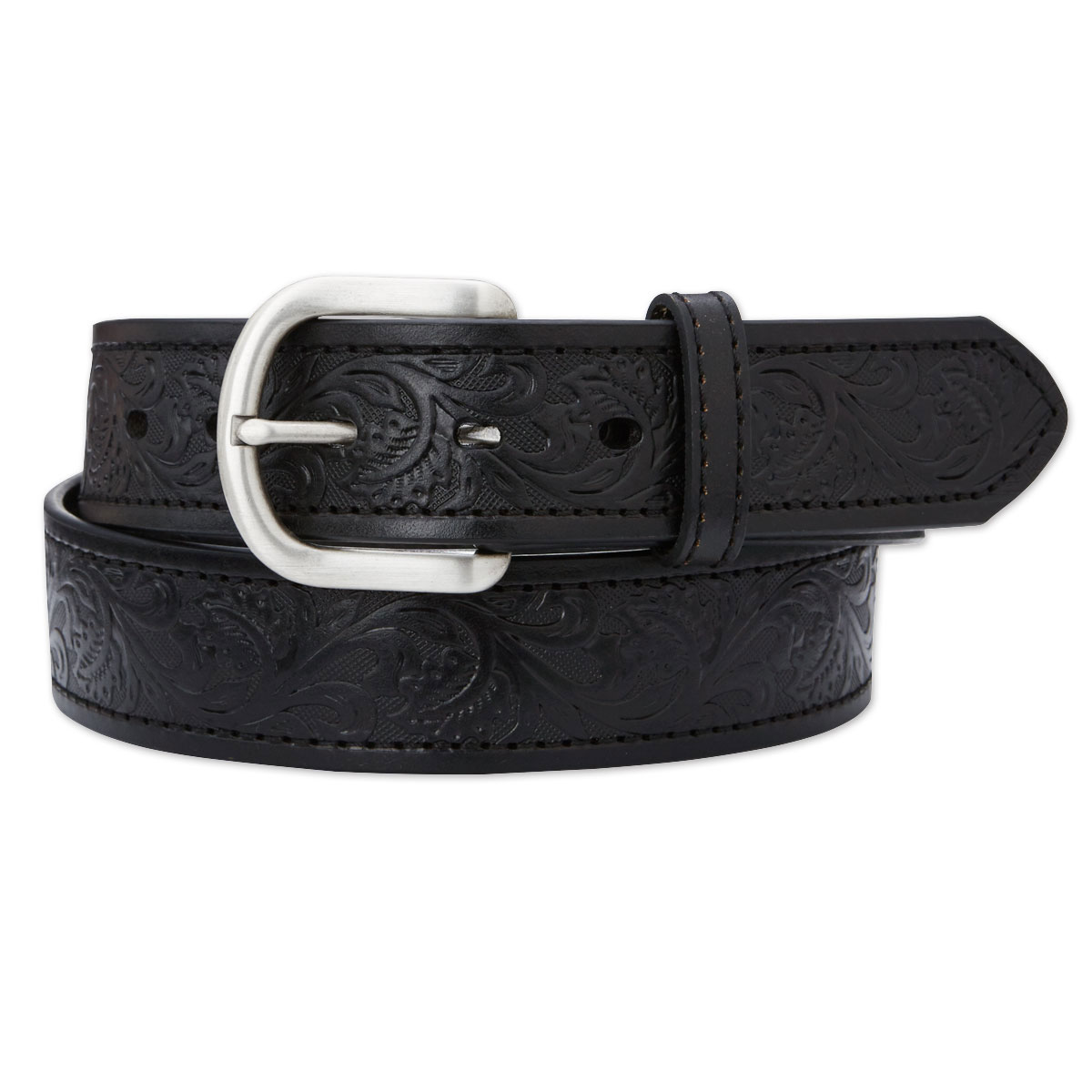 Ariat Men's Embossed Leather Belt